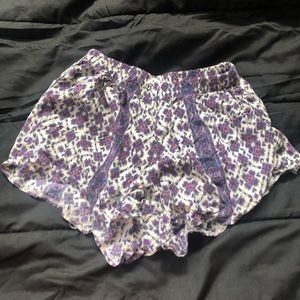 Brandy flowy shorts